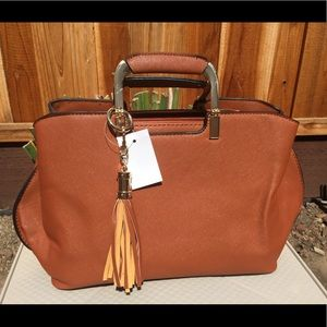 Handbags - NEW Fashion Satchel Brown